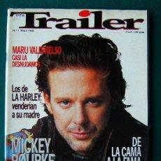 Cine: TRAILER - REVISTA DE CINE MENSUAL - Nº 1 - MUY ILUSTRADA CON DIBUJOS Y FOTOS - 1989 - 1ª EDICION . Lote 34847990