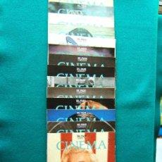 Cine: CINEMA - COLECCION COMPLETA DE 15 FASCICULOS DE CINE - MUY ILUSTRADOS EN COLOR - 1990 ?. Lote 177694990