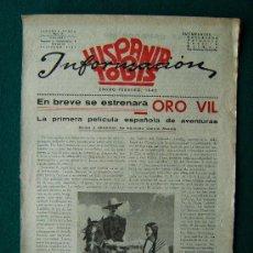 Cine: HISPANIA TOBIS INFORMACION - ESTRENOS DE PELICULAS - Nº 17 - 1942 - 1ª EDICION. Lote 34857919