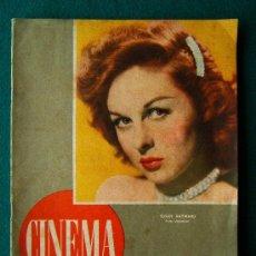 Cine: CINEMA-REVISTA DE CINE-Nº 34-SUSAN HAYWARD-RICHARD DERR-1947-1ª EDICION.. Lote 34858386
