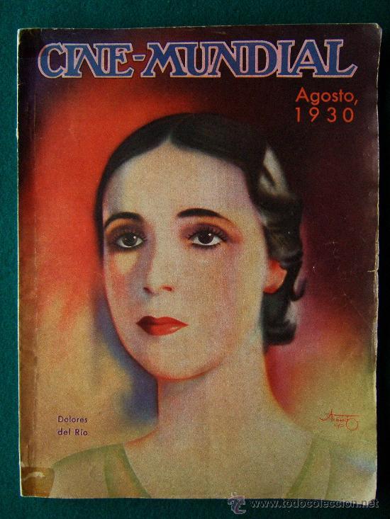 CINE-MUNDIAL-REVISTA MENSUAL CINEMATOGRAFICA-BILBAO-Nº 8-1930-1ª EDICION. (Cine - Revistas - Cine Mundial)