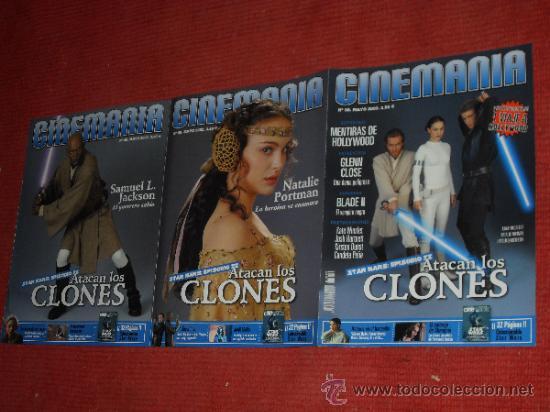Cine: STAR WARS. lote Cinemania Ataque de los clones - Foto 3 - 34594653