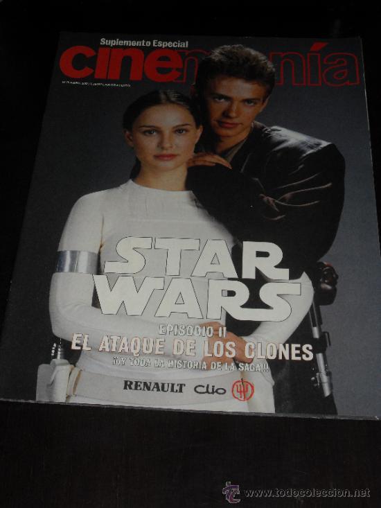 Cine: STAR WARS. lote Cinemania Ataque de los clones - Foto 7 - 34594653