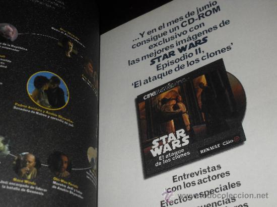 Cine: STAR WARS. lote Cinemania Ataque de los clones - Foto 11 - 34594653