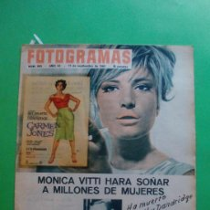 Cine: FOTOGRAMAS 17/09/1965 Nº 883 MONICA VITTI - BUSTER KEATON - CARY GRANT - SONNY AND CHER . Lote 34882978