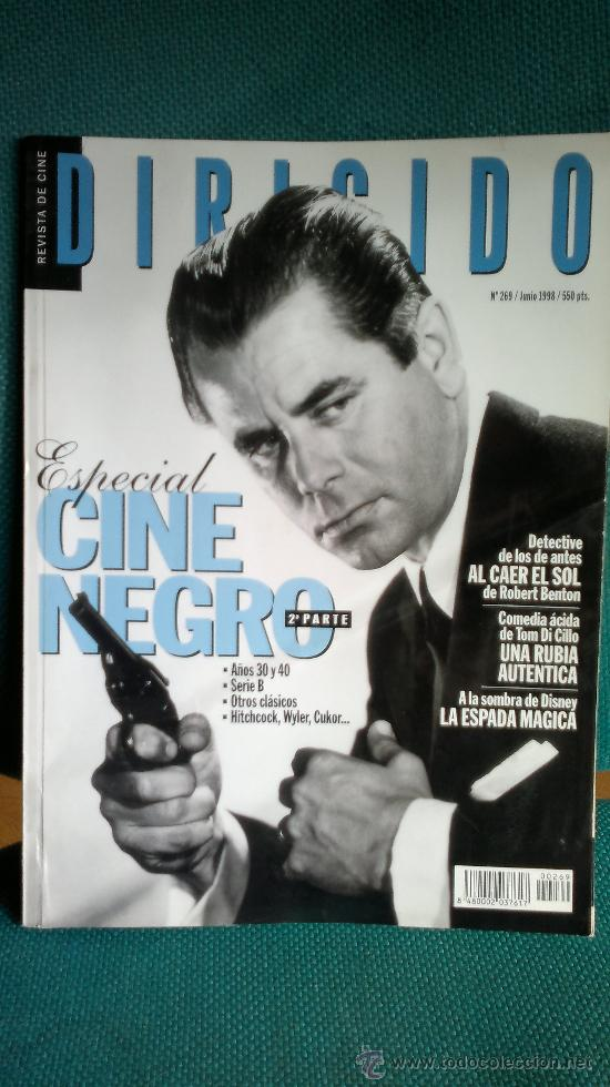 REVISTA CINE DIRIGIDO JUNIO 1998 Nº 269 (Cine - Revistas - Dirigido por)