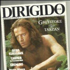 Cine: DIRIGIDO POR NUM 118 TARZAN KUROSAVA GREMLINS VENECIA 84. Lote 34971307