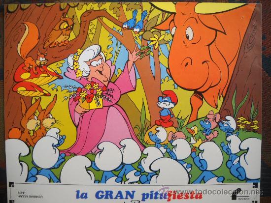 LA GRAN PITUFIESTA - 12 LOBBY-CARDS FILMAYER (Cine - Reproducciones de carteles, folletos...)