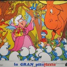 Cine: LA GRAN PITUFIESTA - 12 LOBBY-CARDS FILMAYER. Lote 221620186
