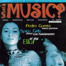 Cine: MAGAZINE WHATS MUSIC 1997 Nº1 SPAIN. Lote 35174479