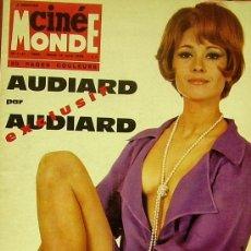 Cinéma: MAGAZINE CINE MONDE 1968 Nº1741 (MARLENE JOBERT) FRANCE. Lote 35184369