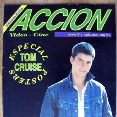 Cine: TOM CRUISE REVISTA DEDICADA AL ACTOR SU VIDA SUS FOTOS POSTER. Lote 35200893