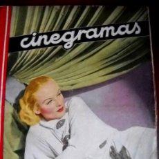 Cine: CINEGRAMAS - CAROLE LOMBARD - Nº 26 - 10 MARZO 1935. Lote 35302294