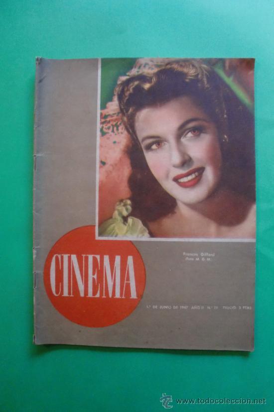 CINEMA Nº 29 01/06/1947 EL TAMBOR DEL BRUCH DE IQUINO - ROGER FURSE - JAMES STEWART - SUSAN HAYWARD (Cine - Revistas - Cinema)