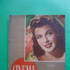 Cine: CINEMA Nº 29 01/06/1947 EL TAMBOR DEL BRUCH DE IQUINO - ROGER FURSE - JAMES STEWART - SUSAN HAYWARD. Lote 35309269