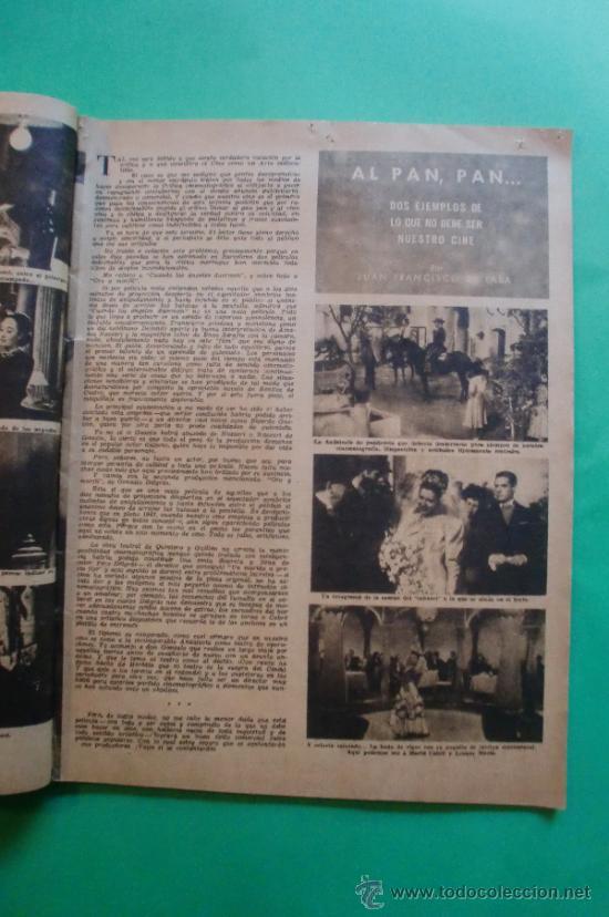 Cine: CINEMA Nº 29 01/06/1947 EL TAMBOR DEL BRUCH DE IQUINO - ROGER FURSE - JAMES STEWART - SUSAN HAYWARD - Foto 5 - 35309269