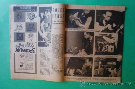 Cine: CINEMA Nº 29 01/06/1947 EL TAMBOR DEL BRUCH DE IQUINO - ROGER FURSE - JAMES STEWART - SUSAN HAYWARD - Foto 7 - 35309269