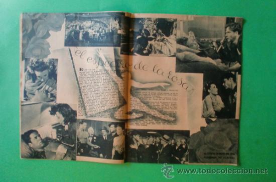 Cine: CINEMA Nº 29 01/06/1947 EL TAMBOR DEL BRUCH DE IQUINO - ROGER FURSE - JAMES STEWART - SUSAN HAYWARD - Foto 8 - 35309269