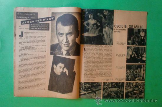 Cine: CINEMA Nº 29 01/06/1947 EL TAMBOR DEL BRUCH DE IQUINO - ROGER FURSE - JAMES STEWART - SUSAN HAYWARD - Foto 9 - 35309269