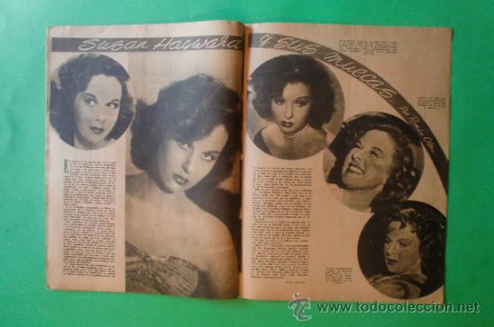 Cine: CINEMA Nº 29 01/06/1947 EL TAMBOR DEL BRUCH DE IQUINO - ROGER FURSE - JAMES STEWART - SUSAN HAYWARD - Foto 10 - 35309269