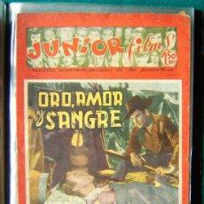 Cine: JUNIOR FILMS - Nº 18 - REVISTA CINEMATOGRAFICA DE LA JUVENTUD - MUY ILUSTRADA EN B/N Y COLOR - 1946. Lote 35309270