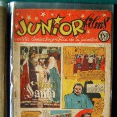 Cine: JUNIOR FILMS - Nº 30 - REVISTA CINEMATOGRAFICA DE LA JUVENTUD - MUY ILUSTRADA EN B/N Y COLOR - 1947. Lote 35309437
