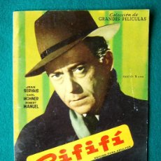 Cine: RIFIFI - JULES DASSIN - JEAN SERVAIS - CARL MOHNER - ARGUMENTO Y FOTOS.. Lote 35312212