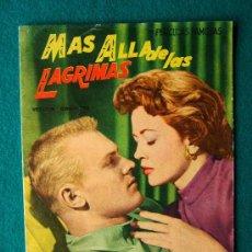 Cine: MAS ALLA DE LAS LAGRIMAS - RAOUL WALSH - VAN HEFLIN - ALDO RAY - ARGUMENTO Y FOTOS - 1958 . Lote 35312361