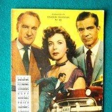 Cine: MIENTRAS NUEVA YORK DUERME - FRITZ LANG - DANA ANDREWS - VINCENT PRICE - ARGUMENTO Y FOTOS -1959 . Lote 35314458
