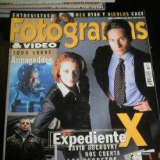 Cine: FOTOGRAMAS Nº. 1857 JULIO 1998 - DAVID DUCHOVNY / MEG RYAN / NICOLAS CAGE. Lote 35322068