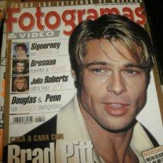 Cine: FOTOGRAMAS Nº. 1850 DICIEMBRE 1997 - BRAD PITT / SIGOURNEY / VERONICA LAKE / MARTIN SHEEN. Lote 35322150