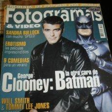 Cine: FOTOGRAMAS Nº. 1845 JULIO 1997 - GEORGE CLOONEY / SANDRA BULLOCK / WILL SMITH / TOMMY LEE JONES. Lote 35322226