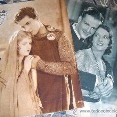 Cine: 2 REVISTAS Nº 281 Y 286 - 31-12-1931 Y 4-2-1932 - PORTADA RAMON NOVARRO EN BEN-HUR. Lote 35330959