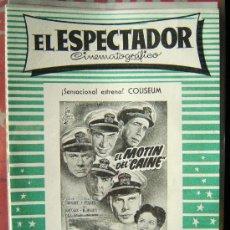 Cine: EL ESPECTADOR CINEMATOGRAFICO - REVISTA DE CINE Nº 1 - DIRECTOR MANUEL SOMACARRERA - 1954 - 1ª EDIC.. Lote 35331472