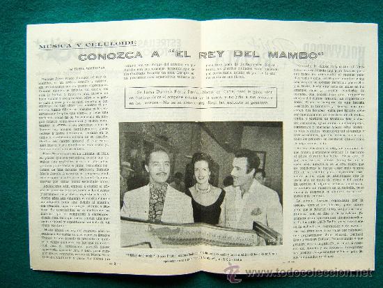 Cine: EL ESPECTADOR CINEMATOGRAFICO - REVISTA DE CINE Nº 1 - DIRECTOR MANUEL SOMACARRERA - 1954 - 1ª EDIC. - Foto 2 - 35331472