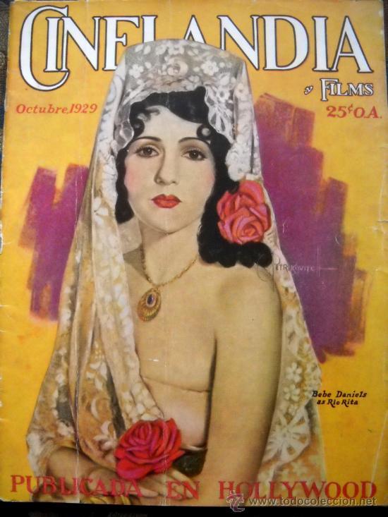 CINELANDIA - OCTUBRE DE 1929 (Cine - Revistas - Cinelandia)