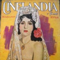 Cine: CINELANDIA - OCTUBRE DE 1929. Lote 35331651