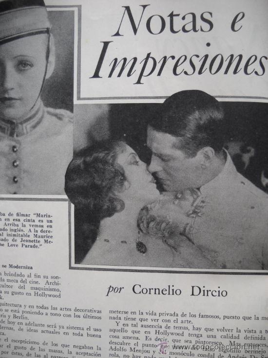 Cine: CINELANDIA - Octubre de 1929 - Foto 4 - 35331651