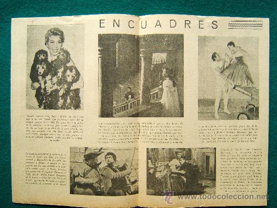 Cine: EL ESPECTADOR CINEMATOGRAFICO - REVISTA DE CINE Nº 3 - DIRECTOR MANUEL SOMACARRERA - 1954 - 1ª EDIC. - Foto 2 - 35331825