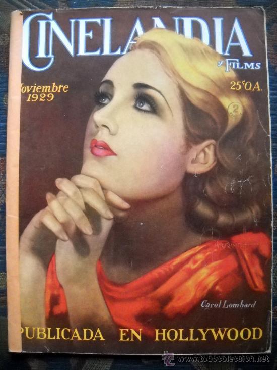 CINELANDIA - NOVIEMBRE 1929 (Cine - Revistas - Cinelandia)