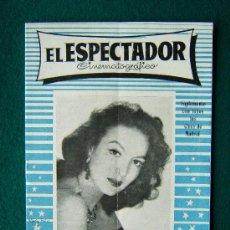 Cine: EL ESPECTADOR CINEMATOGRAFICO - REVISTA DE CINE Nº 4 - DIRECTOR MANUEL SOMACARRERA - 1954 - 1ª EDIC.. Lote 35331936