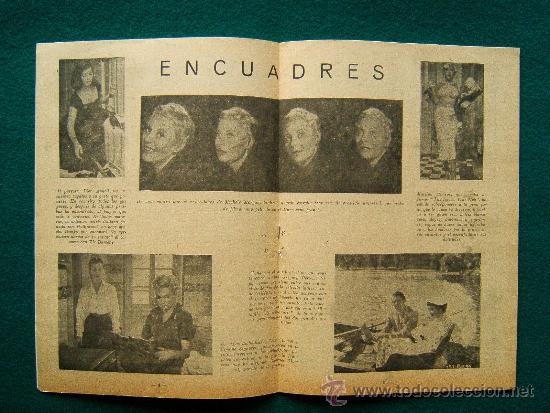 Cine: EL ESPECTADOR CINEMATOGRAFICO - REVISTA DE CINE Nº 4 - DIRECTOR MANUEL SOMACARRERA - 1954 - 1ª EDIC. - Foto 2 - 35331936