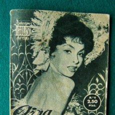 Cine: GINA LOLLOBRIGIDA - Nº 6 - COLECCION IDOLOS DEL CINE - VIDA, TRAYECTORIA ARTISTICA Y 30 FOTOS - 1958. Lote 35342928