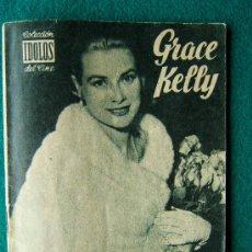 Cine: GRACE KELLY - Nº 13 - COLECCION IDOLOS DEL CINE - VIDA Y TRAYECTORIA ARTISTICA - 30 FOTOS - 1958 . Lote 35343221