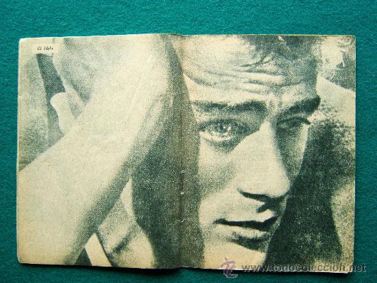 Cine: JAMES DEAN - Nº 27 - COLECCION IDOLOS DEL CINE - VIDA Y TRAYECTORIA ARTISTICA - 30 FOTOS - 1958 - Foto 2 - 35343724