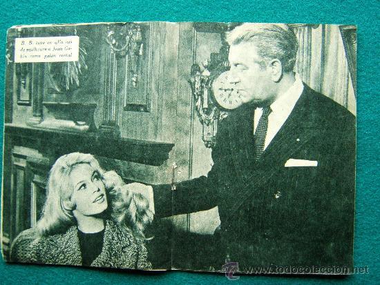 Cine: BRIGITTE BARDOT - Nº 34 - COLECCION IDOLOS DEL CINE - VIDA Y TRAYECTORIA ARTISTICA - 30 FOTOS - 1958 - Foto 2 - 35344096