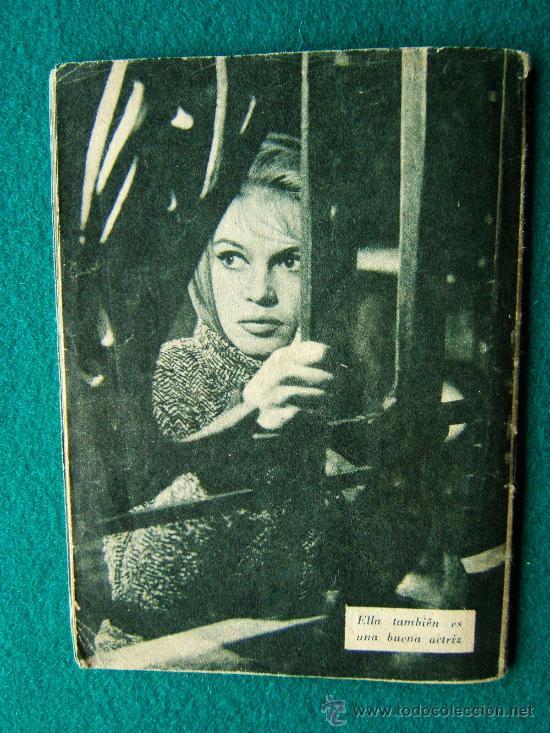 Cine: BRIGITTE BARDOT - Nº 34 - COLECCION IDOLOS DEL CINE - VIDA Y TRAYECTORIA ARTISTICA - 30 FOTOS - 1958 - Foto 3 - 35344096