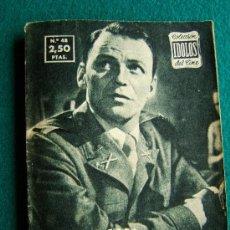 Cine: FRANK SINATRA - Nº 48 - COLECCION IDOLOS DEL CINE - VIDA Y TRAYECTORIA ARTISTICA - 30 FOTOS - 1958. Lote 35344616