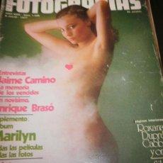 Cine: FOTOGRAMAS Nº 1499 JULIO 1977 - JAIME CAMINO / ENRIQUE BRASO / MAE WEST. Lote 35376432