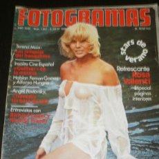 Cine: FOTOGRAMAS Nº 1447 JULIO 1976 - TERENCI MOIX / ANGEL PAVLOVSKY / ROSA VALENTI / RICARDO FRANCO . Lote 35377055